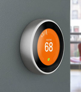 A CONNECTED THERMOSTAT