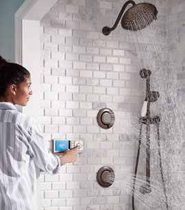 CONNECTED SHOWER HEAD